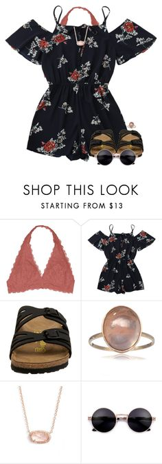 Featuring Youmita, Birkenstock and Kendra Scott Cute Summer Outfits, Outfits For Teens, Pretty Outfits, Spring Outfits, Cool Outfits, Casual Outfits, Teenager Outfits, Summer Wear, Summer Clothes