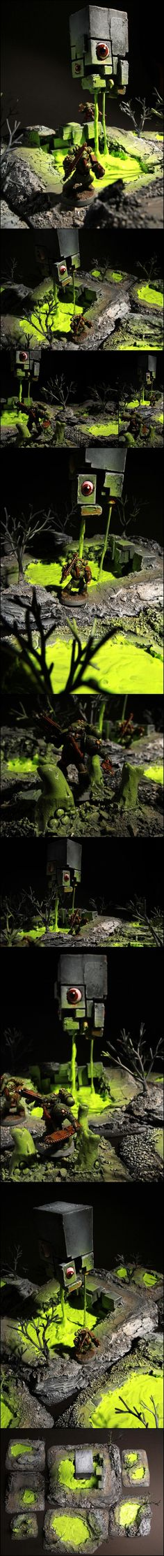 Awesome, Chaos, Nurgle, Object Source Lighting, Terrain, Warped
