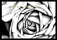 UM Stempel - Rose i ramme stor