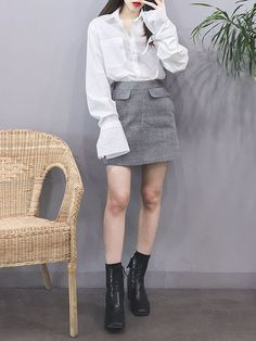korean fashion trends in 2019 корейская мода, Korean Fashion Tomboy, Korean Fashion Winter, Korean Fashion Trends, Ulzzang Fashion, Korea Fashion, Harajuku Fashion, Korean Street Fashion, Kpop Fashion, Asian Fashion