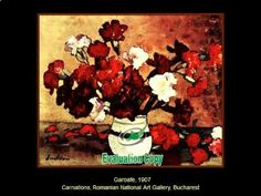 stefan luchian the painter of flowers National Art, Carnations, New Art, Art Gallery, Make It Yourself, Artist, Flowers, Painting, Youtube