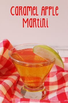 I love fall flavored drinks, and can't WAIT to try this caramel apple martini at Thanksgiving! #sweetnlowstars #client