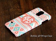 #acycshop Ethnic Geometric Monogram Samsung Galaxy S5/S4/S3/Note 3/Note 2 3D-Wrap Case