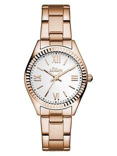 sOliver-Damen-Armbanduhr-Analog-Quarz-Edelstahl-SO-3084-MQ