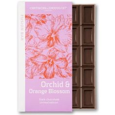 Artisan du Chocolat Orchid and Orange Blossom Dark Bar