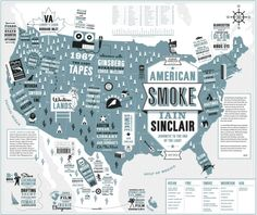American Smoke - From 50 Book Covers for 2013