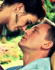 "Eva Green as Vesper Lynd and Daniel Craig as James Bond in ""Casino Royale"" (2006)."