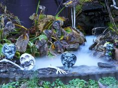 Even the ponds go wicKED at Halloween.