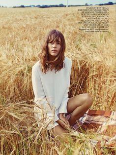 Freja Beha Erichsen Vogue UK January 201 Styled by Francesca Burns Ph: Cass Bird