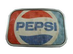 Pepsi belt buckle