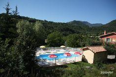 L'Amandier** - zwembad van de camping