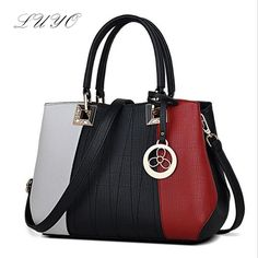 89.88$  Buy here - http://viplr.justgood.pw/vig/item.php?t=3a8416b2866 - LUYO 2017 New Women Messenger Bag Casual Tote Party Clutches Fashion Hit Color S 89.88$