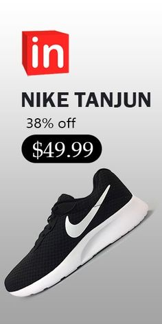 0d8dc149a4e NIKE TANJUN Mens and Women s Running Fitness casual Shoes  49.99 (38% off)  Dark