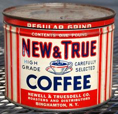 New & True Coffee, 1930's.
