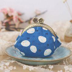 Handmade Coin Purse pouches japanese style sakura wallet change pouch | Evergiftz