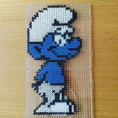 Smurf hama beads by  enis_erlebnisse