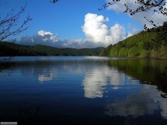 Lago Ampollino, Sila, province of crotone , calabria region Italy