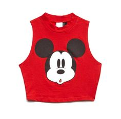 The Best Mickey Mouse Crop Tops? Uh this is for sure mickeys face if I try and pull this look off YIKES