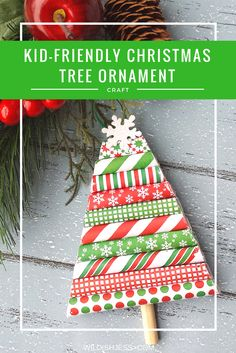 Homemade Christmas tree ornaments are a tradition I love to uphold and this year we are starting with this kid-friendly Christmas tree ornament craft. Homemade Christmas Tree, Christmas Ornaments To Make, Christmas Gift Guide, Christmas And New Year, All Things Christmas, Christmas Crafts, Christmas Decorations, Christmas Recipes, Christmas Ideas