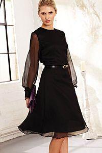Lula silk chiffon dress
