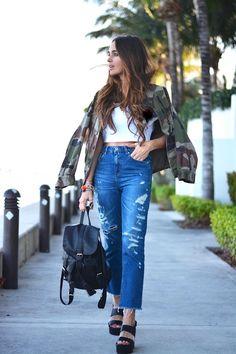 +60 Maneras Aprobadas Por El Street Style De Usar Denim Esta Primavera – Cut & Paste – Blog de Moda