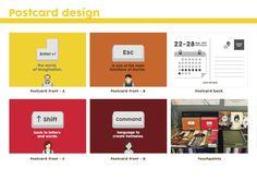#sydney #writers festival #redesign #vector #graphics #design #illustration #yellow #people #brand identity #logo #emchengillustration #postcard #touchpoints