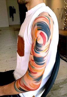 30 Brush-Stroke Tattoos