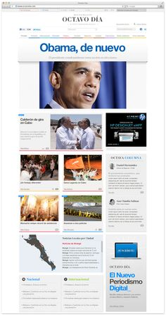 News blog design