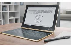 Lenovo's Yoga Book Convertible Scraps Physical Keyboard in Favor of Touch-Sensitive Surf...