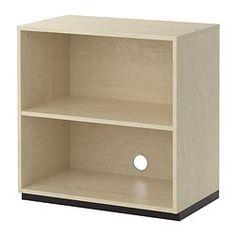 GALANT Shelf unit - birch veneer - IKEA  As a changing/diapering area in the bathroom?