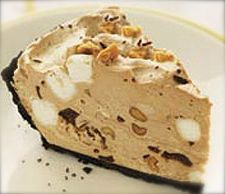 NO BAKE! Rocky Road Pie