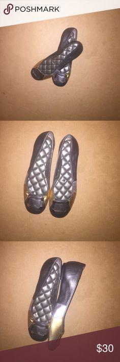 Alex Marie multi tone ballet flats Alex Marie multi toned stylish flats Alex Marie Shoes Flats & Loafers