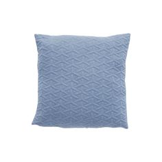 Blue cushion with pattern. Product number: 200309 - Designed by Hübsch