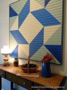 How to Make a Barn Quilt :: An Oregon Cottage