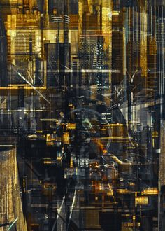MEGA CITIES by atelier olschinsky , via Behance