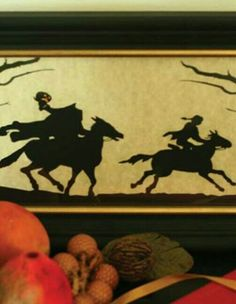 Headless Horseman Silhouette from Victorian Trading Co.