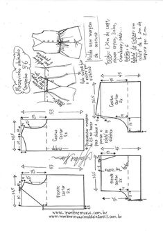 Need Some Sewing Patterns? Clone Your Clothes - Sewing Method Dress Sewing Patterns, Sewing Patterns Free, Sewing Tutorials, Clothing Patterns, Fabric Sewing, Skirt Patterns, Dress Tutorials, Blouse Patterns, Kids Clothing