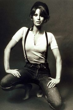 Joanna Lumley (Purdey from New Avengers, Sapphire from Sapphire & Steel, Patsy from Absolutely Fabulous, etc.) in 1972