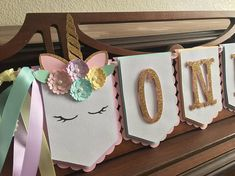 52 trendy baby girl party decorations diy how to make Baby First Birthday, Unicorn Birthday Parties, Unicorn Party, First Birthday Parties, Girl Birthday, First Birthdays, Dyi Decorations, Girls Party Decorations, Banner Crafting