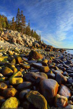 Schoodic, Acadia National Park, Maine. Photo: Greg from Maine, via Flickr