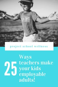 25 Ways teachers make your kids employable, thriving adults - a much needed look into how teachers powerfully influence and impact students lives on a daily basis! Middle School Health, Middle School Teachers, Health Lesson Plans, Health Lessons, Health Education, Physical Education, Mental Health, School Counselor Lessons, Health Activities