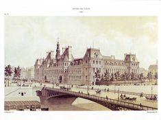 Paris à travers les âges par M.F Hoffbauer - Gravures de F1ADC