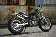 Suzuki RV200 - Heiwa Motorcycles - Inazuma Cafe Racer
