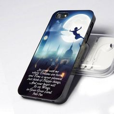 Case iphone 4 and 5 for Peter Pan Quote on Etsy, $14.89