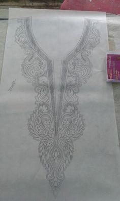 Neck sketch