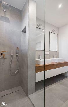 segment, Sokołów Podlaski 150 m2 - Średnia łazienka na poddaszu w bloku w domu jednorodzinnym bez okna, styl minimalistyczny - zdjęcie od MANEKINEKO - homebook