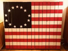 A personal favorite from my Etsy shop https://www.etsy.com/listing/466593593/wood-pallet-american-flag-wood-pallet