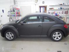 Folierung eines VW Beetle