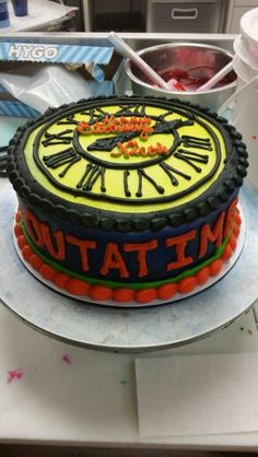 Back to the future cake!