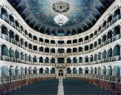 View Teatro Comunale di Bologna I by Candida Höfer on artnet. Browse upcoming and past auction lots by Candida Höfer. Theatre Architecture, World Theatre, Bologna, Concert Hall, Opera House, City Photo, Louvre, Auction, London